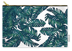 Palm Tree 7 Carry-all Pouch by Mark Ashkenazi