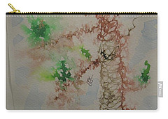 Palm Tree Carry-all Pouch by AJ Brown
