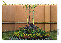 Palm Tree Garden Carry-all Pouch by James Gay
