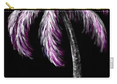 Palm Tree In Pink Carry-all Pouch by Dani Abbott