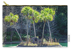 Palm Tree Island Carry-all Pouch