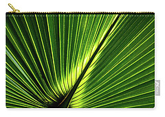 Palm Tree With Back-light Carry-all Pouch