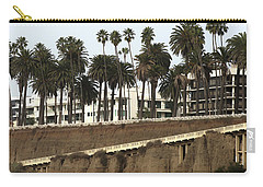Palm Trees And Apartments Carry-all Pouch