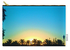 Blue Sunset New Orleans City Park Carry-all Pouch