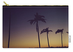 Palm Trees In The Morning Light Carry-all Pouch
