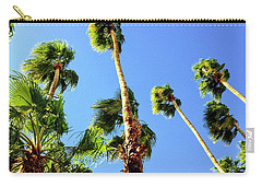 Palm Trees Looking Up Carry-all Pouch