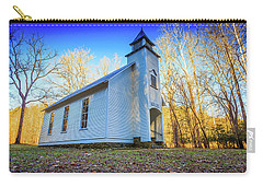 Carry-all Pouch featuring the photograph Palmer Chapel Methodist Church by Doug Camara