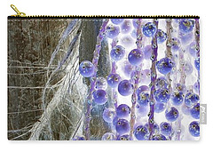 Backlit Blueberries Carry-all Pouch