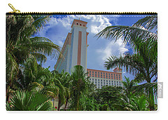 Palms At The Riu Cancun Carry-all Pouch