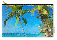 Palms Beach Abstract  Carry-all Pouch