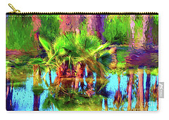 Palms In Estuary Carry-all Pouch by Gerhardt Isringhaus
