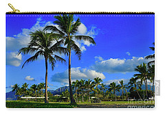 Palms In The Morning Carry-all Pouch