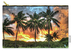 Palms On Fire Carry-all Pouch