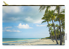 Palms On The Beach Carry-all Pouch