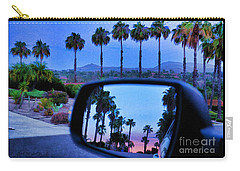 Palms Sunset Reflection Carry-all Pouch