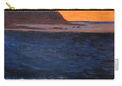 Carry-all Pouch featuring the painting Palos Verdes Sunset by Jamie Frier