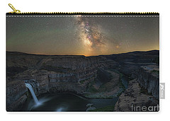 Palouse Falls Milky Way Galaxy  Carry-all Pouch