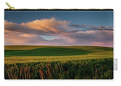 Carry-all Pouch featuring the photograph Palouse Tree Of Life by Dan Mihai