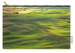Carry-all Pouch featuring the photograph Palouse Views by Patricia Davidson