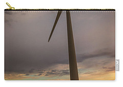 Palouse Windmill At Sunrise Carry-all Pouch