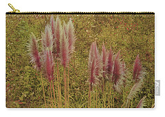 Carry-all Pouch featuring the photograph Pampas Grass by Athala Carole Bruckner