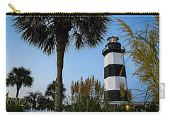 Pampas Grass, Palms And Lighthouse Carry-all Pouch
