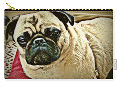 Pampered Pug Carry-all Pouch