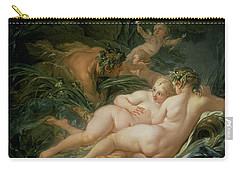 Pan And Syrinx Carry-all Pouch by Francois Boucher