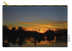 Pana Setting Sun Blues Carry-all Pouch