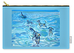 Panama. Salted Dogs Carry-all Pouch by Anna  Duyunova
