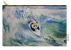 Panda Surfer Carry-all Pouch