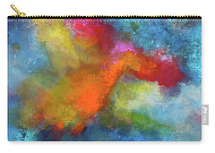 Pangaea World.  Painting. Carry-all Pouch