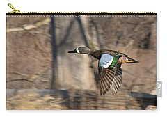 Panning For Teal Carry-all Pouch