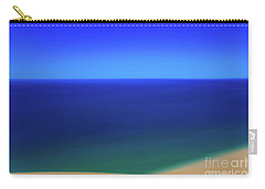Panning The Blue Horizon Carry-all Pouch by Rachel Cohen