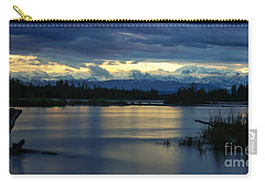 Pano Alaska Midnight Sunset Carry-all Pouch
