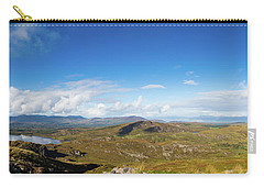 Carry-all Pouch featuring the photograph Panorama Of Ballycullane And Lough Acoose In Ireland by Semmick Photo