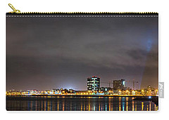 Panorama Of Reykjavik Iceland Carry-all Pouch by Joe Belanger