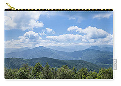Panorama Of The Foothills Of The Pyrenees In Biert Carry-all Pouch