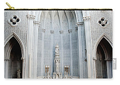 Panorama Of The Main Altar Of St. John The Evangalist Roman Catholic Church Schenectady Carry-all Pouch