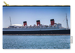 Panorama Of The Queen Mary Carry-all Pouch