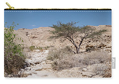 Carry-all Pouch featuring the photograph Panorama On Genesis Land 02 by Arik Baltinester