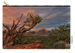 Panorama Storm Back Of Zion Near Hurricane Utah Carry-all Pouch