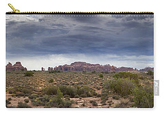 Panoramic View At Arches National Park Carry-all Pouch