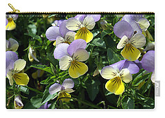 Pansies Carry-all Pouch