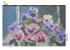 Pansies For A Friend Carry-all Pouch