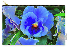 Pansies Carry-all Pouch by Joe Burns
