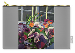 Pansy Frenzy Carry-all Pouch