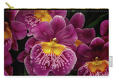 Pansy Orchid Carry-all Pouch by Garry Gay