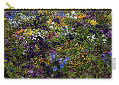 Pansy Patch Carry-all Pouch