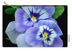 Pansy Portrait Carry-all Pouch